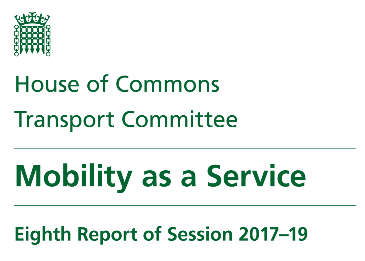 Transport Select Committee releases its latest report on Mobility as
