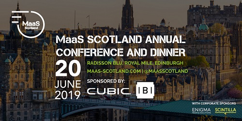 MaaS Scotland Annual Conference and Dinner 2019: Programme Announcement